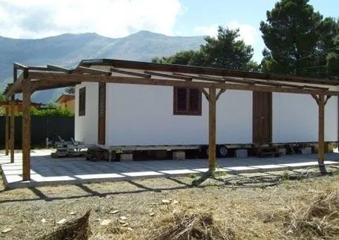 eco house case prefabbricate case su ruote palermo